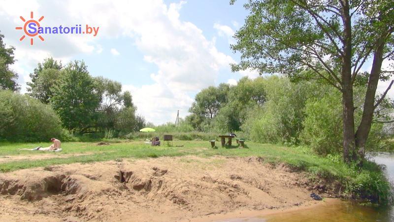 Санатории Белоруссии Беларуси - санаторий Подъельники - Пляж