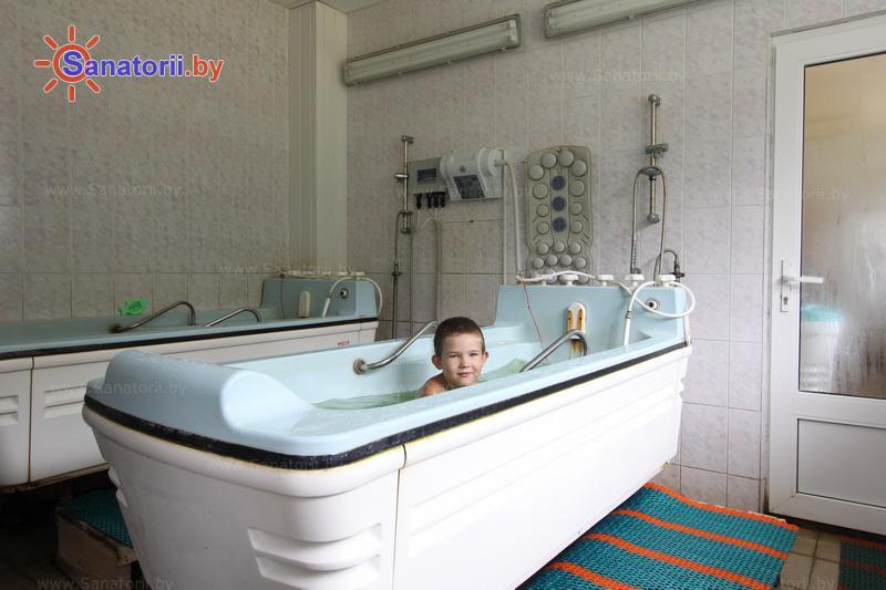 Санатории Белоруссии Беларуси - санаторий Рудня - Ванны жемчужные