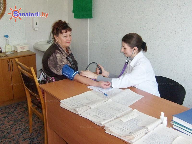 Санатории Белоруссии Беларуси - санаторий Рудня - Процедурный кабинет