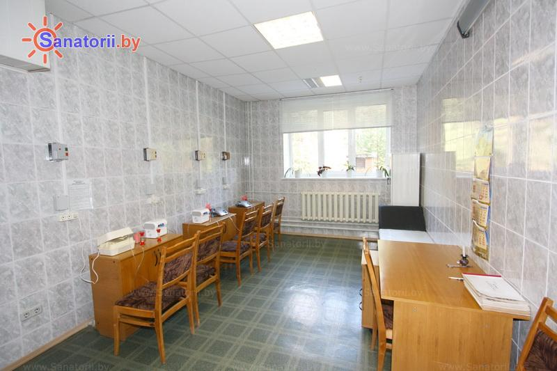 Санатории Белоруссии Беларуси - санаторий Рудня - Ингаляции (аэрозольтерапия)