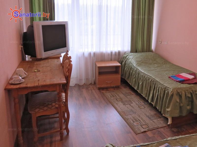 Санатории Белоруссии Беларуси - санаторий Рудня - двухместный однокомнатный (корпус №2)