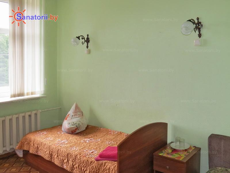 Санатории Белоруссии Беларуси - санаторий Рудня - одноместный в блоке (1+1) (корпус №4)