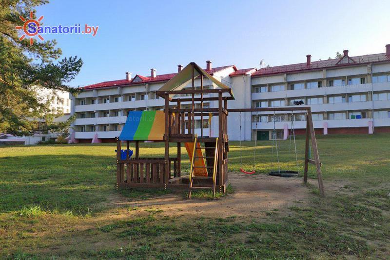 Санатории Белоруссии Беларуси - санаторий Рудня - Детская площадка