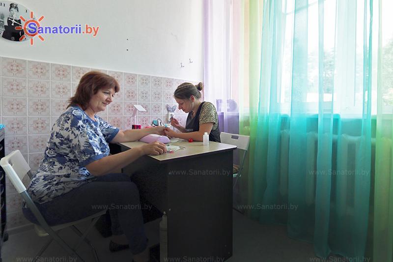 Санатории Белоруссии Беларуси - санаторий Белая Русь - Парикмахерская