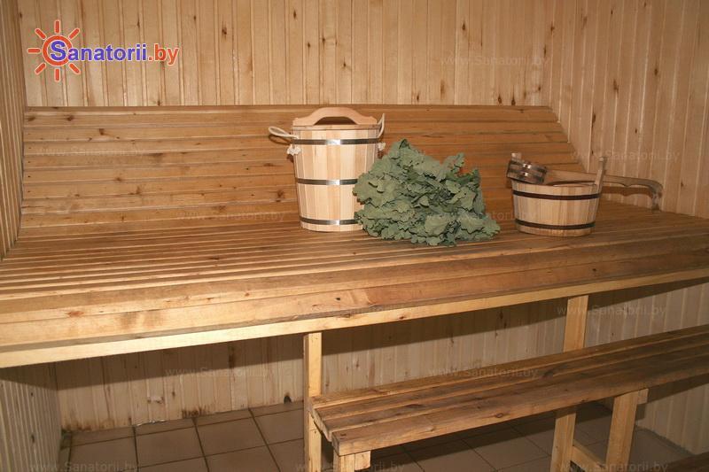 Санатории Белоруссии Беларуси - санаторий Нарочь - Сауна финская