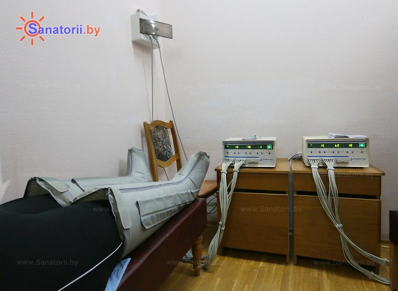 Санатории Белоруссии Беларуси - санаторий Нарочь - Компрессионная терапия