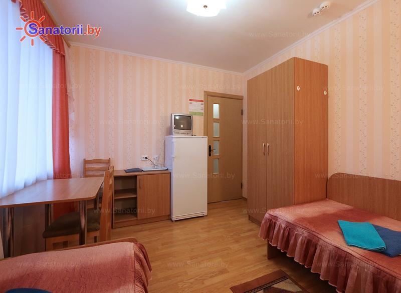 Санатории Белоруссии Беларуси - санаторий Нарочь - двухместный в блоке (2+1) (корпус №2)