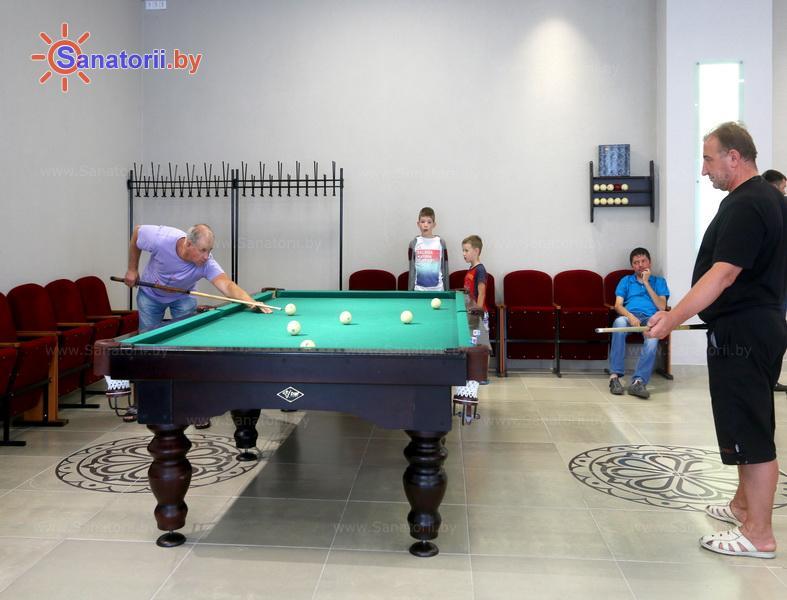 Санатории Белоруссии Беларуси - санаторий Нарочь - Бильярд