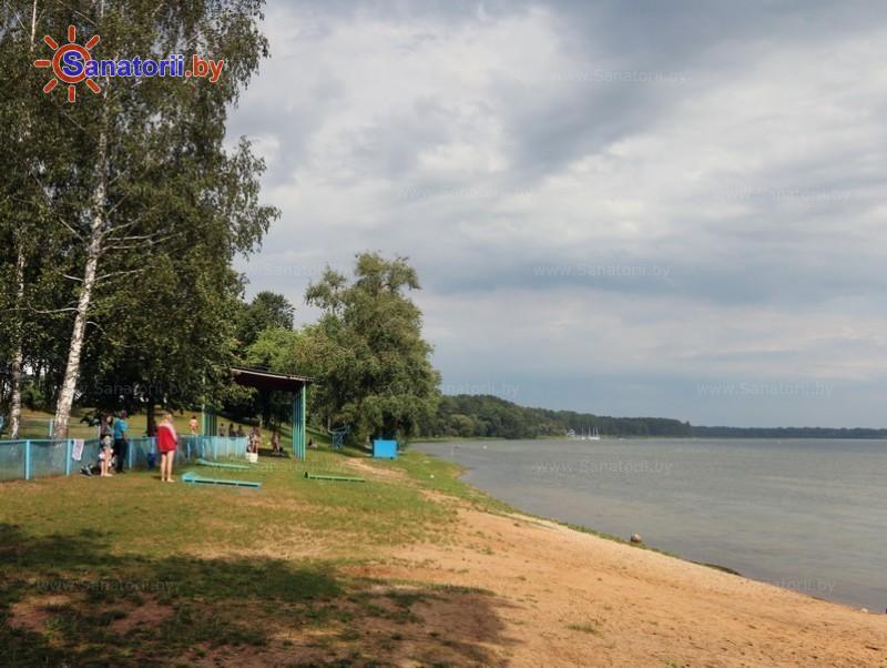 Санатории Белоруссии Беларуси - санаторий Нарочь - Пляж