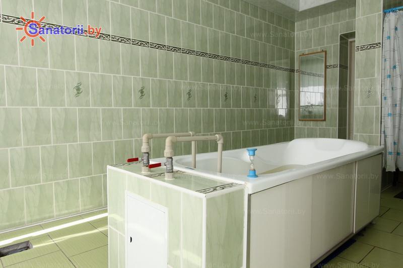 Санатории Белоруссии Беларуси - санаторий Поречье - Ванны скипидарные