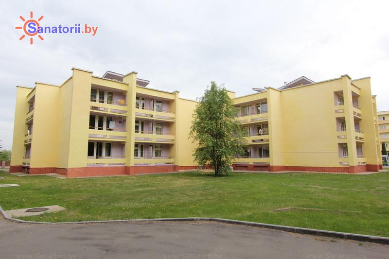 Санатории Белоруссии Беларуси - санаторий Поречье - корпус №3