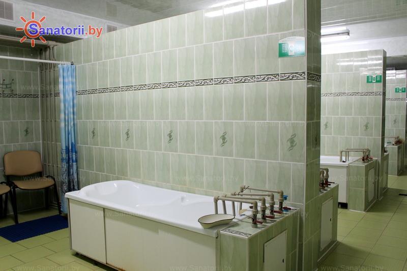 Санатории Белоруссии Беларуси - санаторий Поречье - Ванны общие
