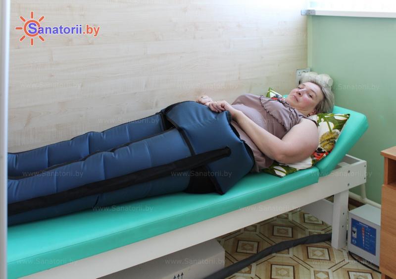 Санатории Белоруссии Беларуси - санаторий Поречье - Компрессионная терапия