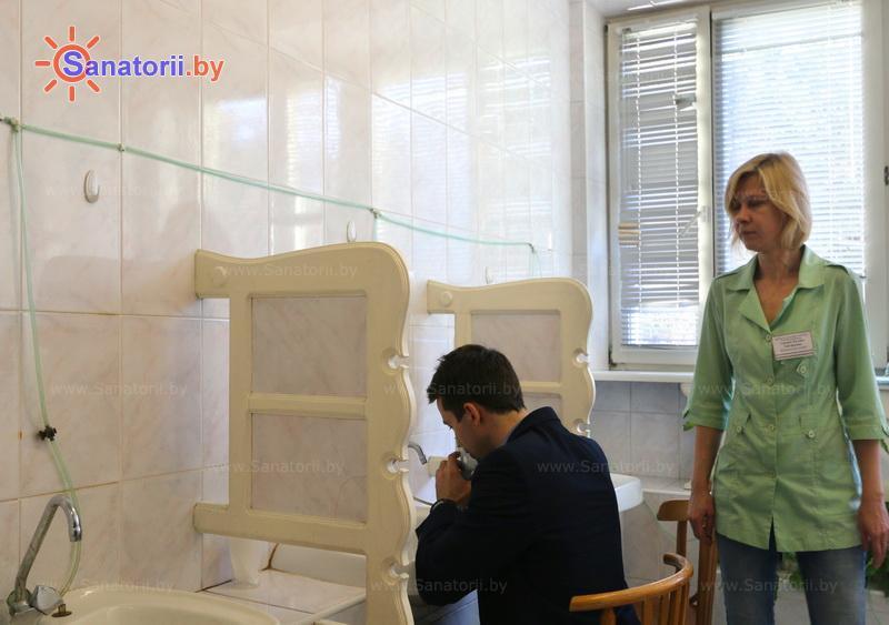Санатории Белоруссии Беларуси - санаторий Поречье - Ингаляции (аэрозольтерапия)
