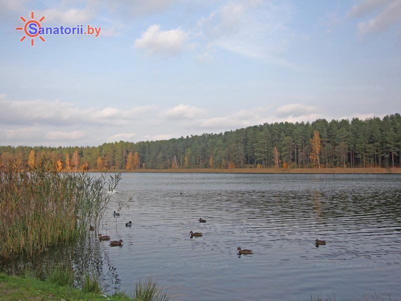Санатории Белоруссии Беларуси - санаторий Поречье - Водоём