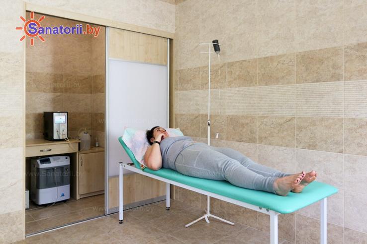 Санатории Белоруссии Беларуси - санаторий Поречье - Озонотерапия