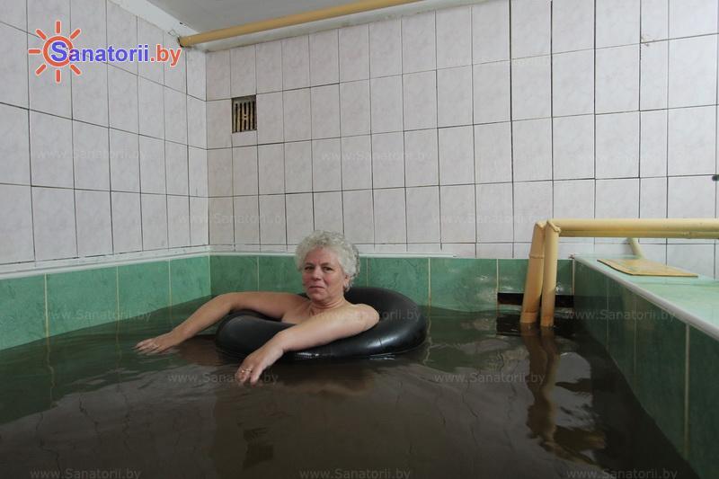 Санатории Белоруссии Беларуси - санаторий Пралеска - Вытяжение позвоночника подводное