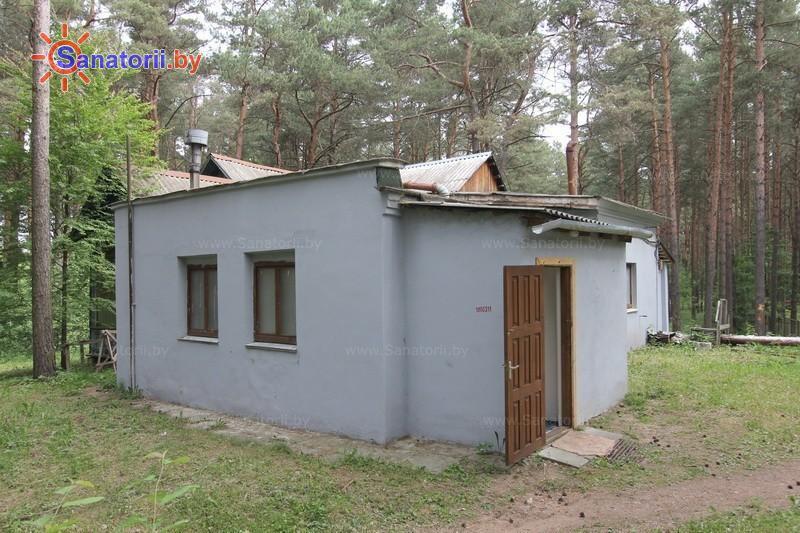 Санатории Белоруссии Беларуси - санаторий Пралеска - сауна