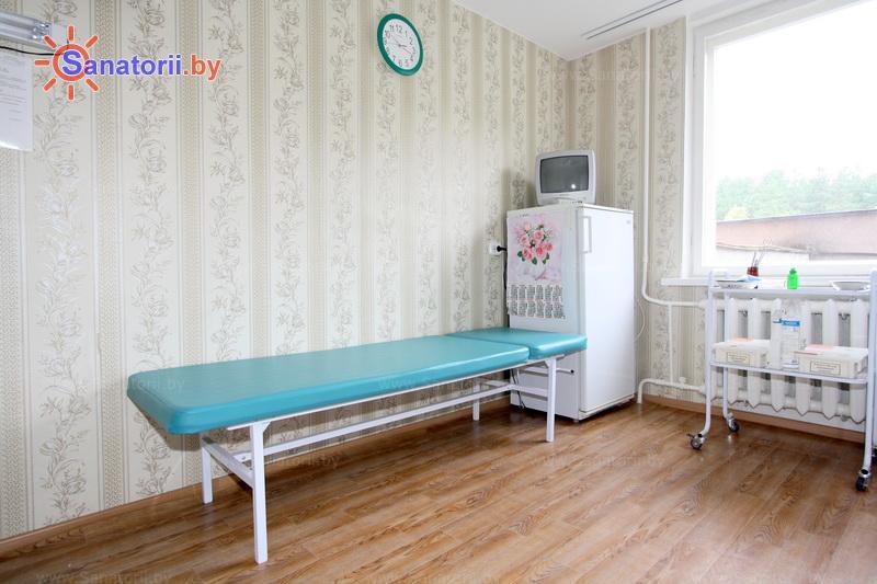 Санатории Белоруссии Беларуси - санаторий Пралеска - Процедурный кабинет
