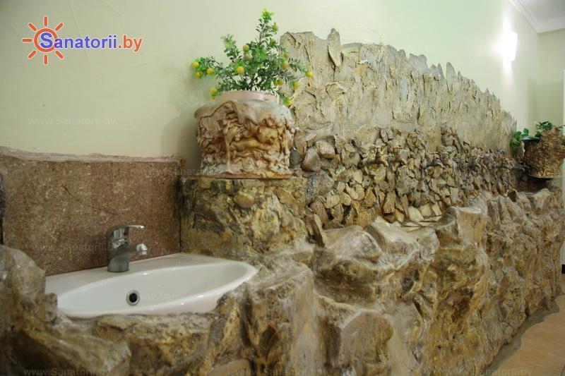 Санатории Белоруссии Беларуси - санаторий Пралеска - Бювет минеральной воды