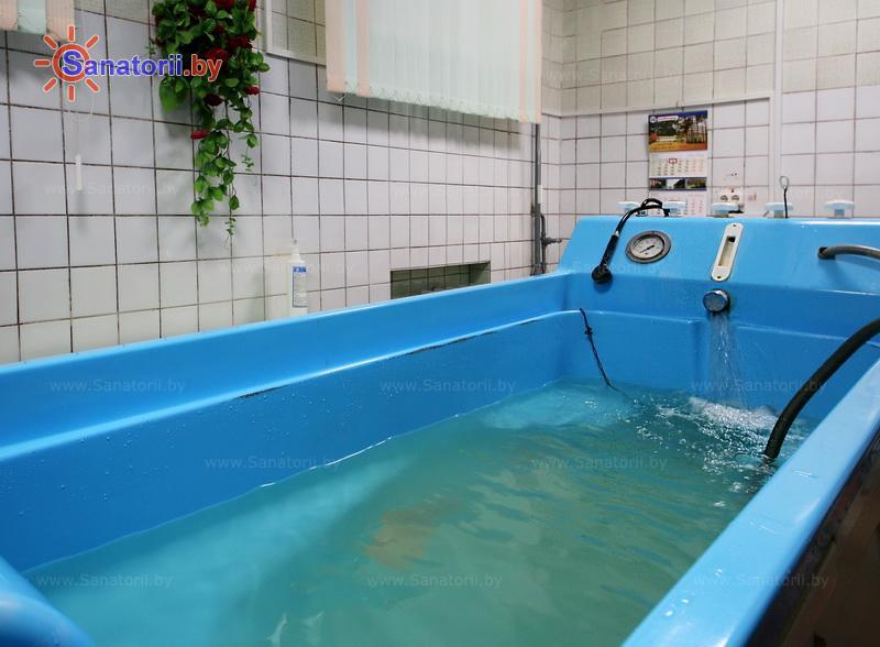 Санатории Белоруссии Беларуси - санаторий Пралеска - Душ-массаж подводный