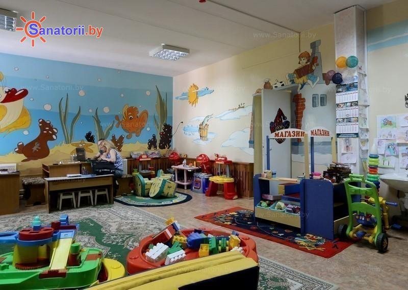 Санатории Белоруссии Беларуси - санаторий Приднепровский - Детская комната