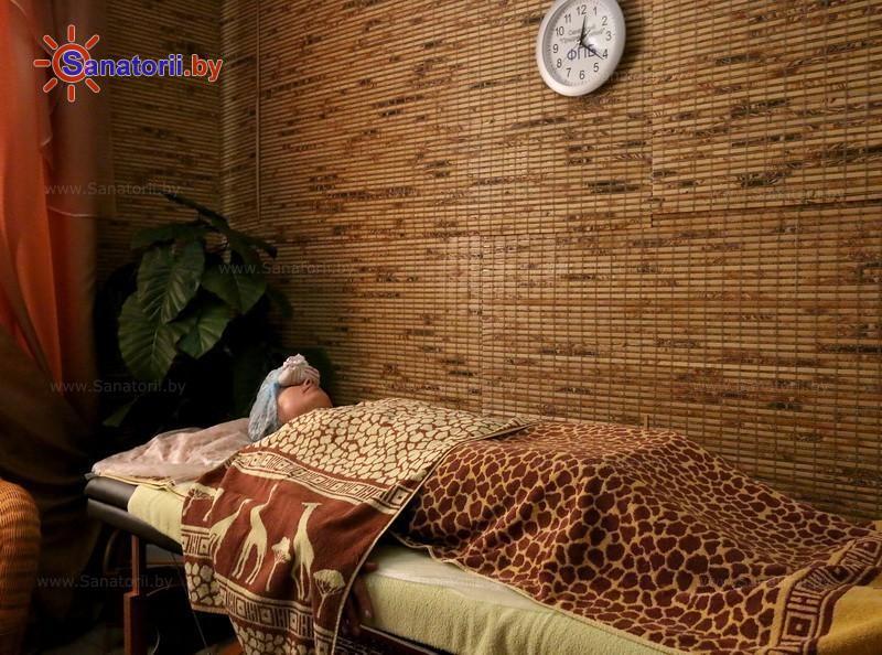Санатории Белоруссии Беларуси - санаторий Приднепровский - Стоунтерапия (массаж камнями)