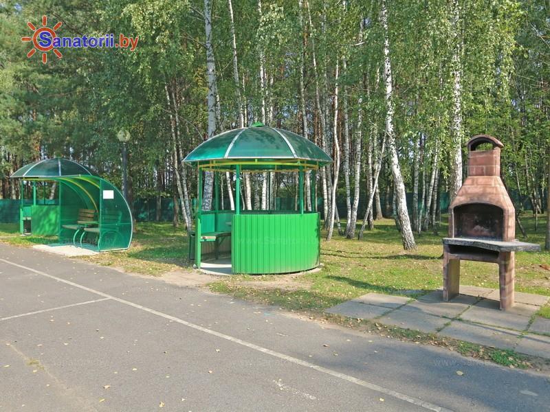 Санатории Белоруссии Беларуси - санаторий Приднепровский - Площадка для шашлыков