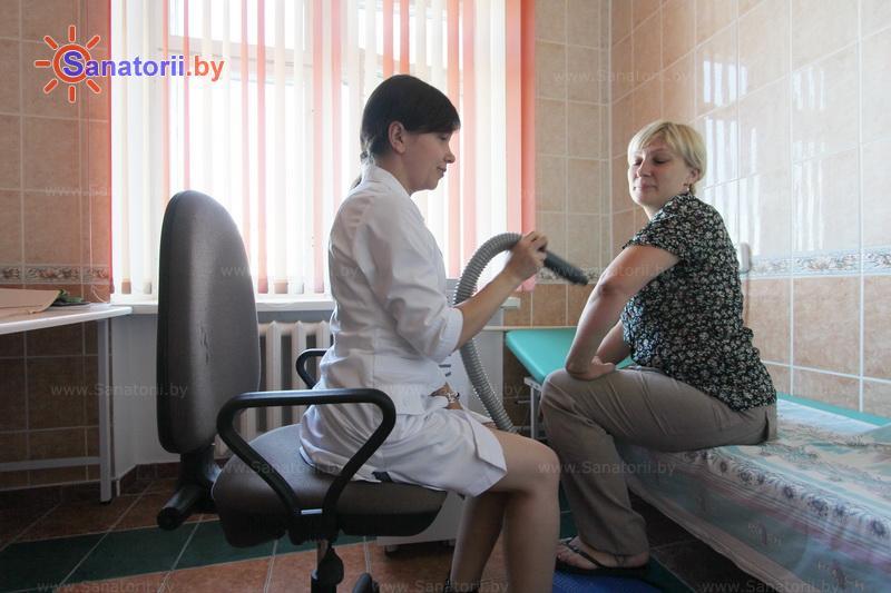 Санатории Белоруссии Беларуси - санаторий Радон - Криотерапия