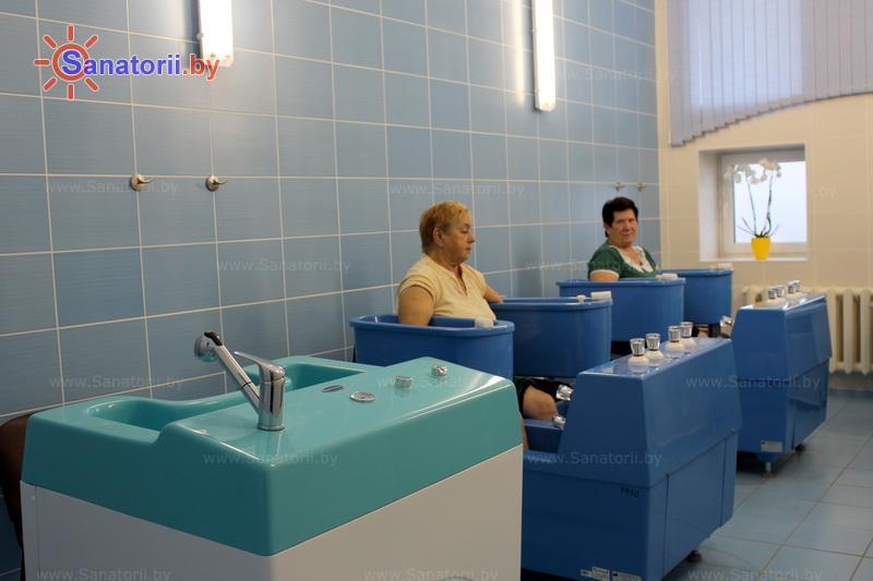 Санатории Белоруссии Беларуси - санаторий Радон - Ванны вихревые