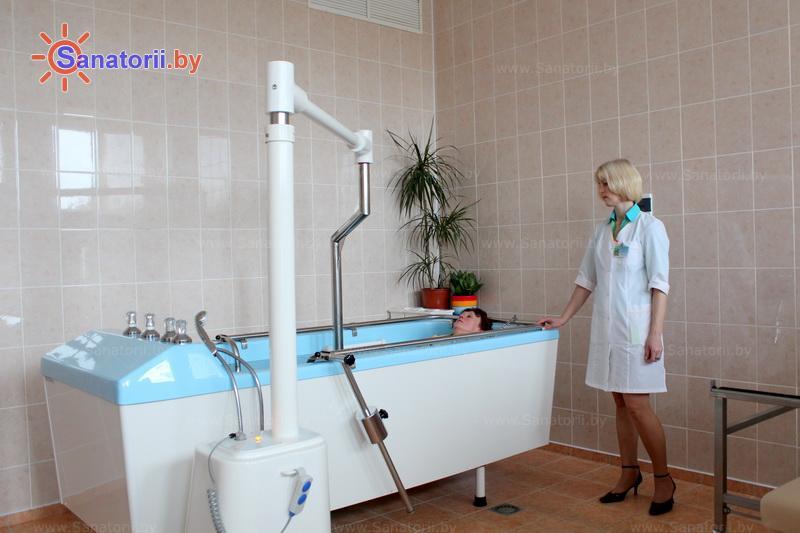 Санатории Белоруссии Беларуси - санаторий Радон - Вытяжение позвоночника подводное