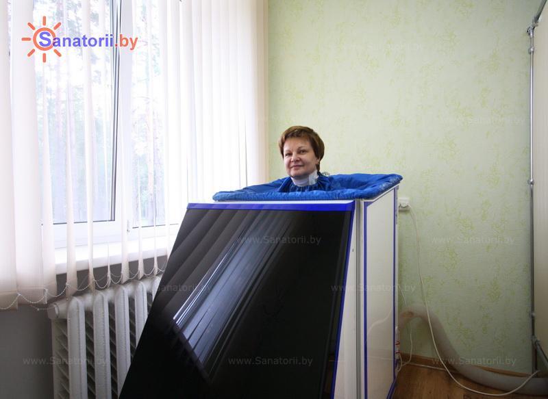 Санатории Белоруссии Беларуси - санаторий Рассвет - Любань - Ванна сухая углекислая