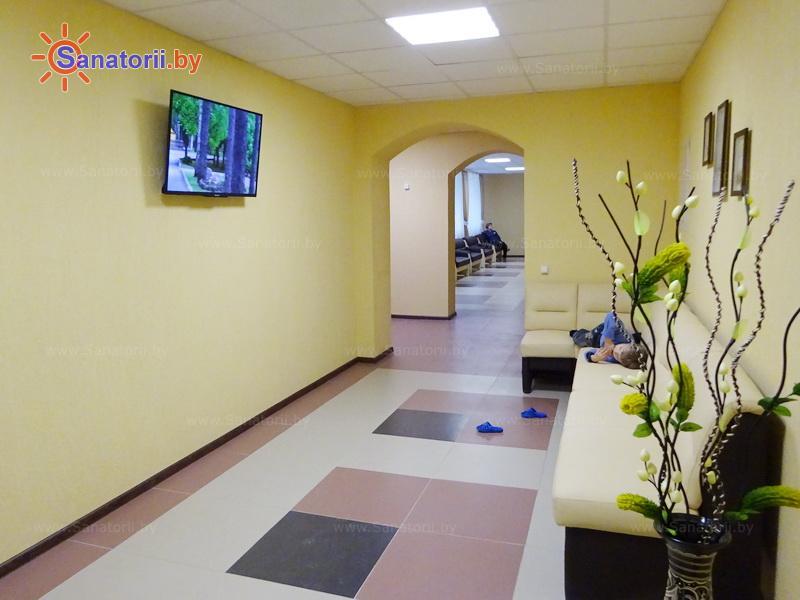 Санатории Белоруссии Беларуси - санаторий Рассвет - Любань - Медицинская база