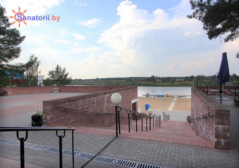 Санатории Белоруссии Беларуси - санаторий Солнечный берег - Территория и природа