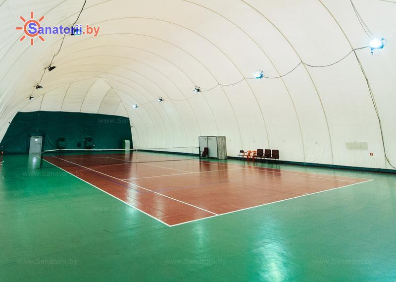 Санатории Белоруссии Беларуси - санаторий Солнечный берег - Теннисный корт