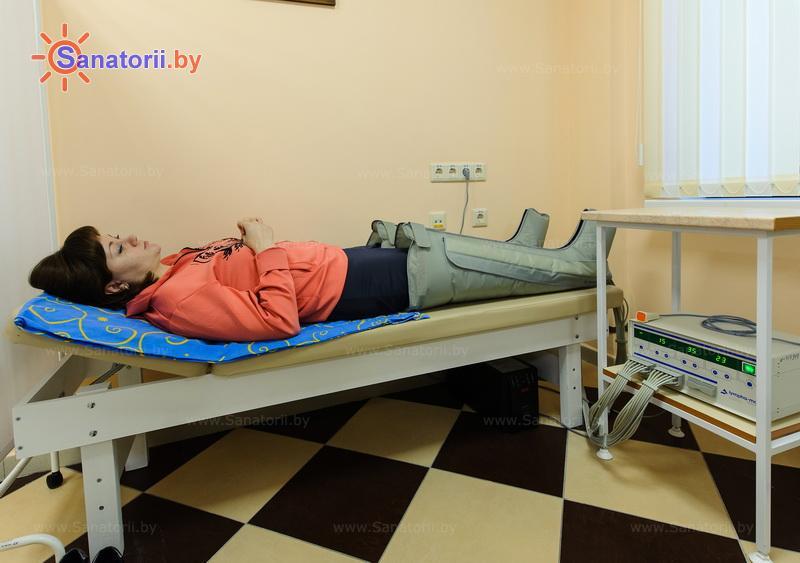 Санатории Белоруссии Беларуси - санаторий Солнечный берег - Компрессионная терапия
