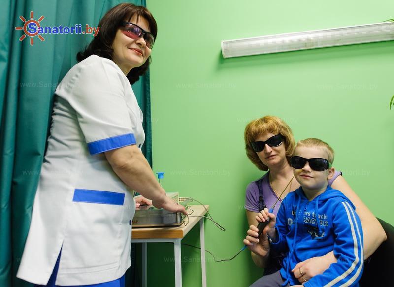 Санатории Белоруссии Беларуси - санаторий Солнечный берег - Лазерная терапия