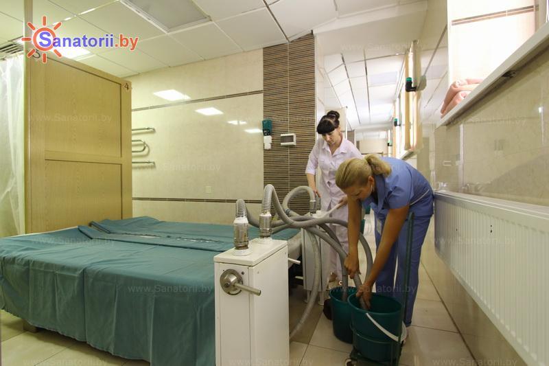 Санатории Белоруссии Беларуси - санаторий Солнечный берег - Грязелечение (пелоидотерапия)
