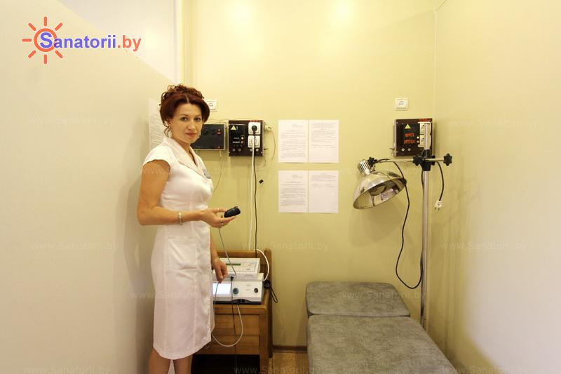 Санатории Белоруссии Беларуси - санаторий Солнечный берег - Электролечение