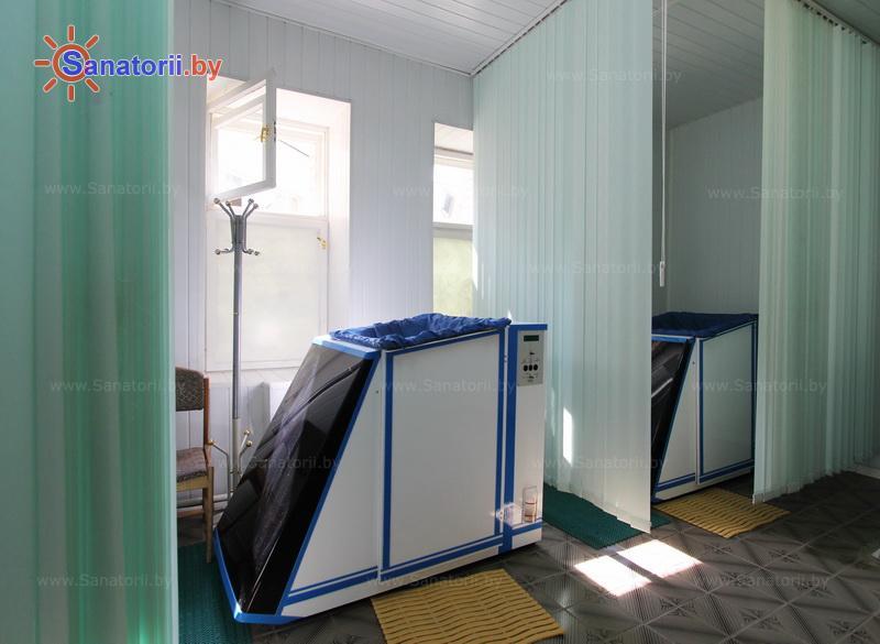 Санатории Белоруссии Беларуси - санаторий Сосновый бор - Ванна сухая углекислая