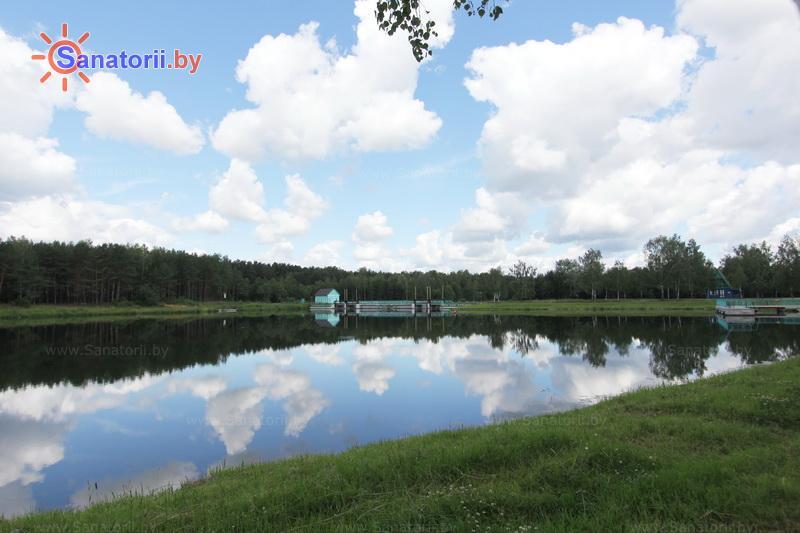 Санатории Белоруссии Беларуси - санаторий Сосновый бор - Водоём