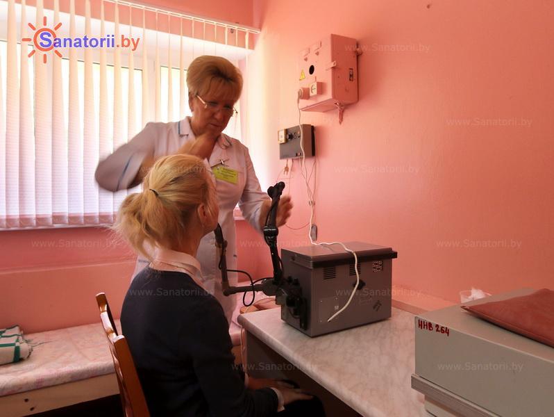Санатории Белоруссии Беларуси - санаторий Сосновый бор - Увч-терапия