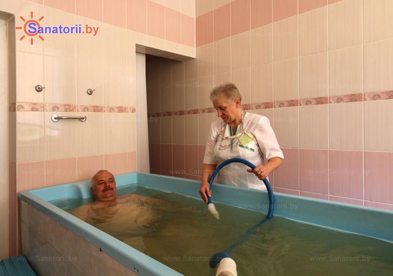 Санатории Белоруссии Беларуси - санаторий Сосновый бор - Душ-массаж подводный