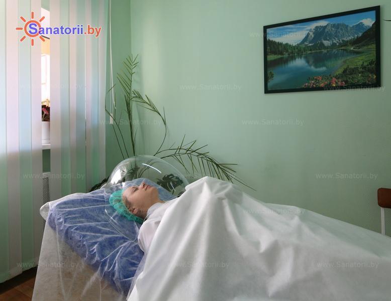Санатории Белоруссии Беларуси - санаторий Сосновый бор - Оксигенотерапия (кислородотерапия)