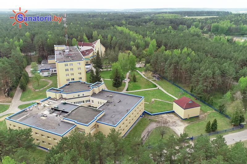 Санатории Белоруссии Беларуси - санаторий Сосновый бор - Территория и природа