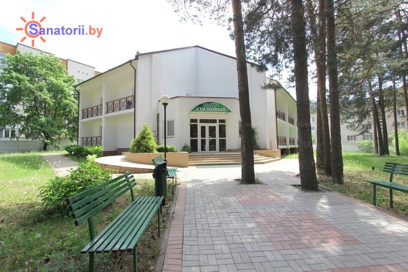Санатории Белоруссии Беларуси - санаторий Сосны - сосновый корпус №3