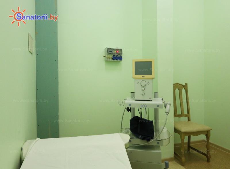 Санатории Белоруссии Беларуси - санаторий Сосны - Волновая терапия