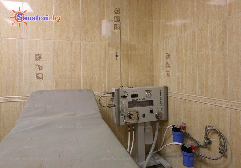 Санатории Белоруссии Беларуси - санаторий Сосны - Гидротерапия кишечника