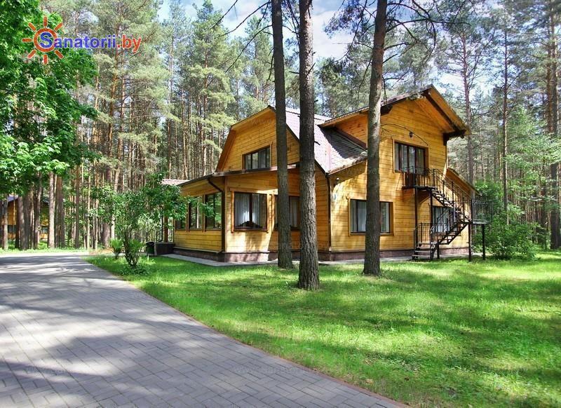 Санатории Белоруссии Беларуси - санаторий Сосны - коттедж №3