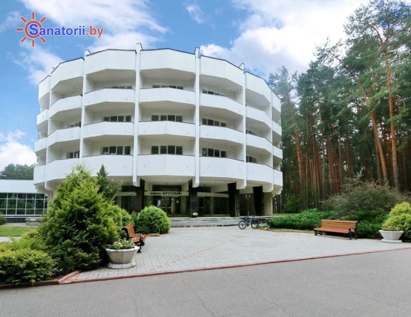Санатории Белоруссии Беларуси - санаторий Сосны - круглый корпус  №2